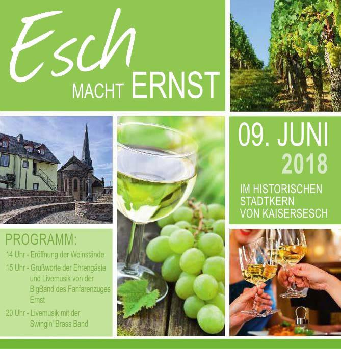 Esch macht Ernst 2018