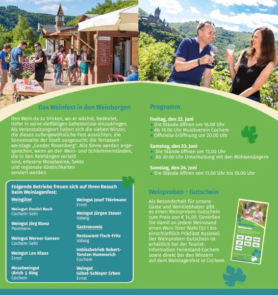 Programm Weinlagenfest