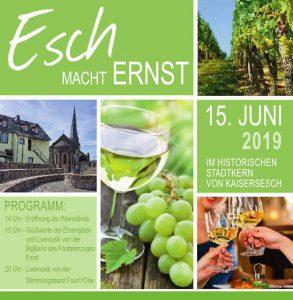 Esch macht Ernst