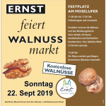 Walnussmarkt in Ernst 22.09.19