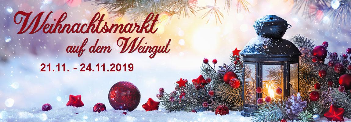 Weihnachtsmarkt auf dem Weingut am 21.11. - 24.11.2019