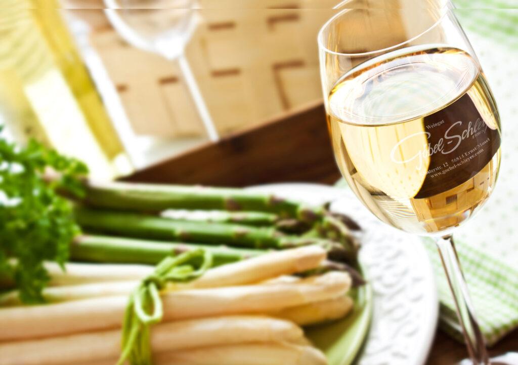 Spargel & Wein